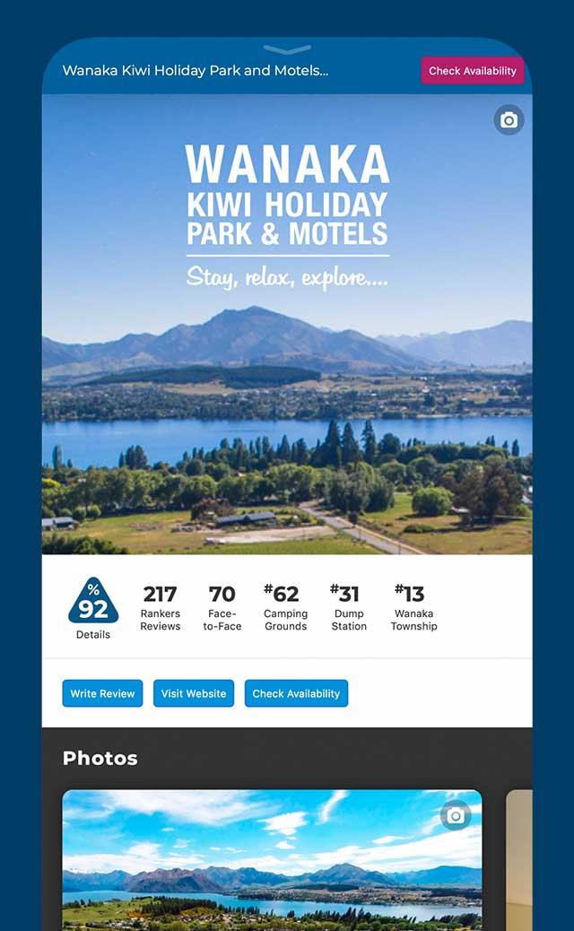 Tourism Operator Information | Plan Benefits