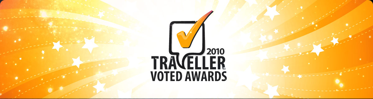 Rankers TravellerVoted Awards 2010