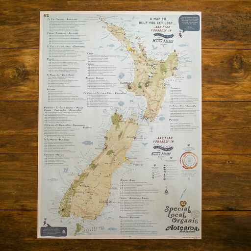 SLO NZ - Rankers Maps