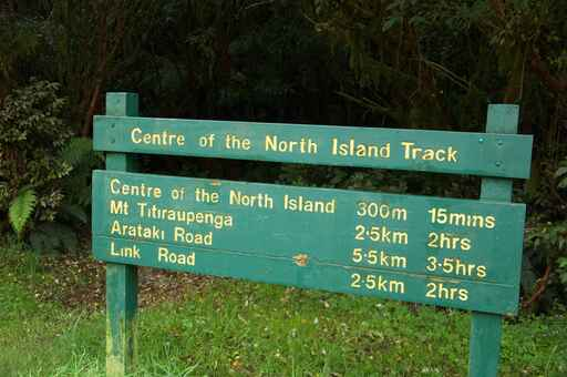 Centre of the North Island - Pureora Forest Park