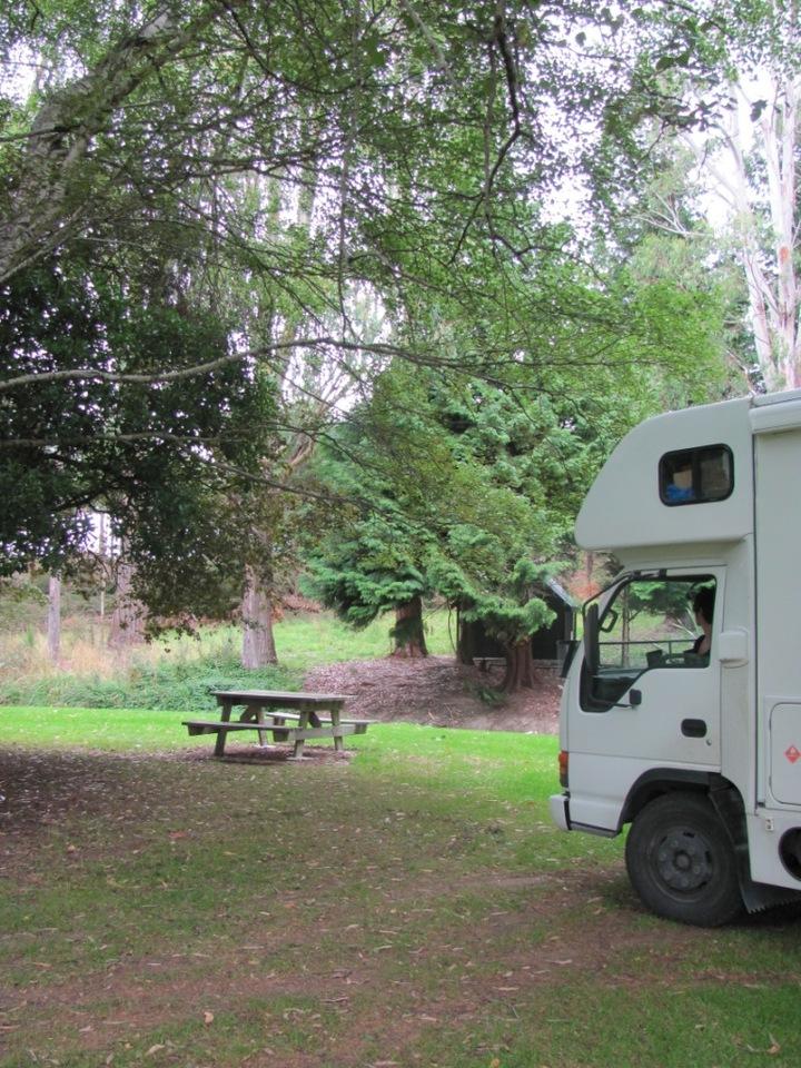 Long bay overnight campervan parking