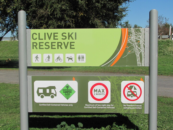 Clive Ski Reserve - Freedom Camping
