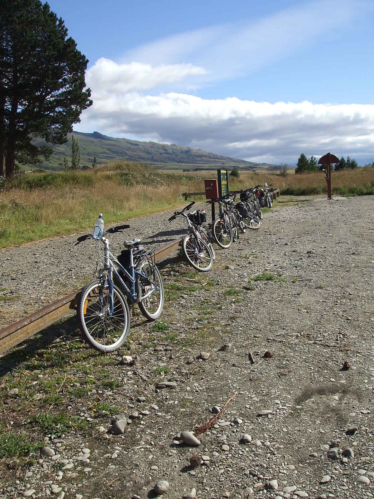 Rock & Pillar Station on the Otago Rail Trail