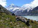 Taking 5 at Aoraki Mt Cook