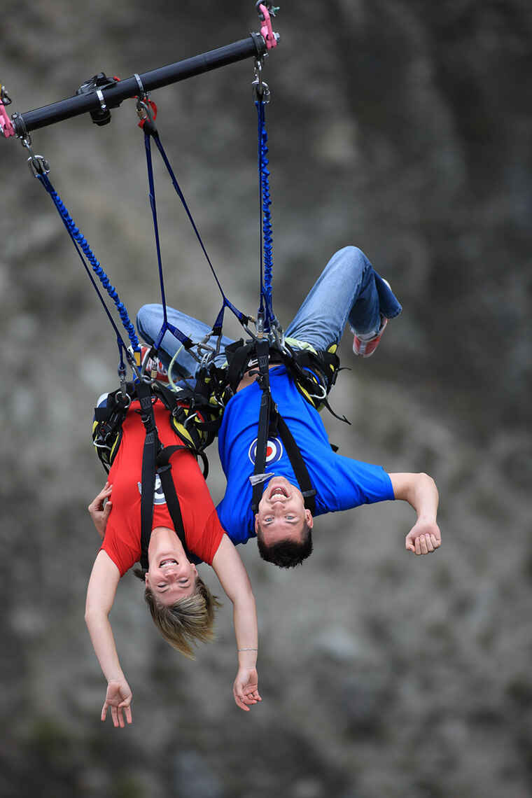 Nevis Arc Swing Queenstown Region Nz 12 Travel Reviews For Harness Forwards Backwards Upside Down Or Tandem