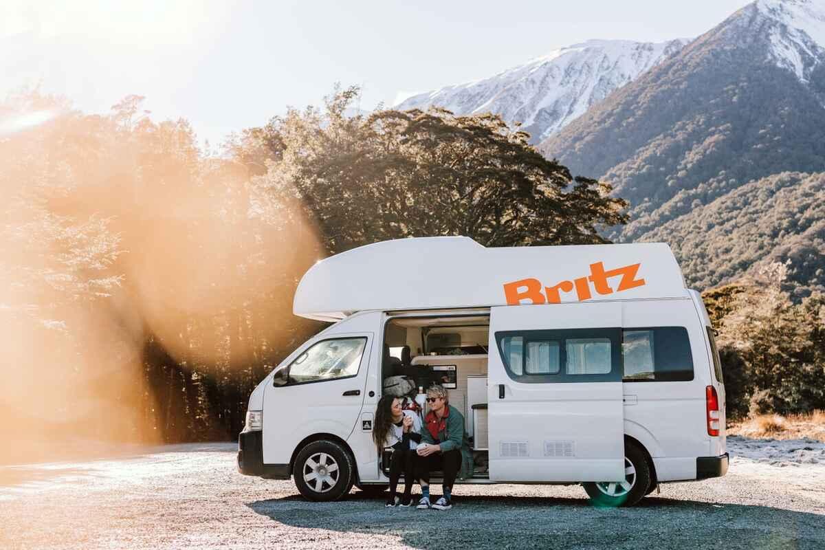 Britz Campervans Auckland Region Nz 473 Travel Reviews