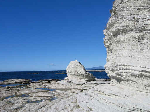 Amazing rock formations on the peninsula