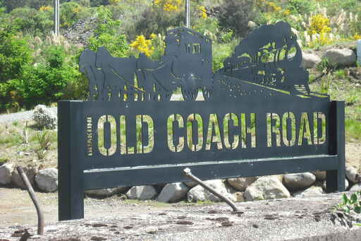 Start of the Old Coach Road