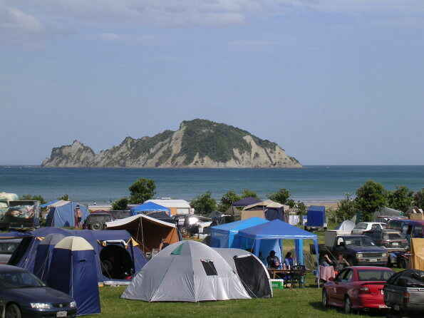 Anaura Bay Camping - Anaura Bay Scenic Reserve, Out East ...