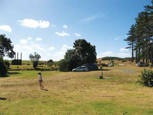 Rarawa Campsite - Paxton Point Conservation Area