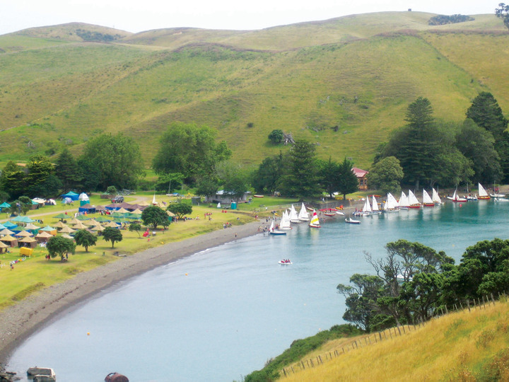 Home Bay - Motutapu Island Recreation Reserve
