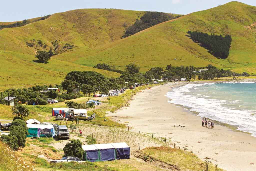 Campervanning in the Coromandel Peninsula