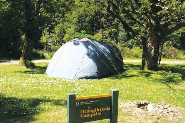 Orangihikoia Camping