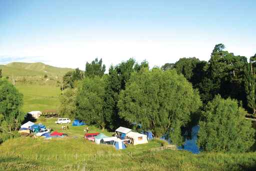 Waikare River Mouth Camping Ground