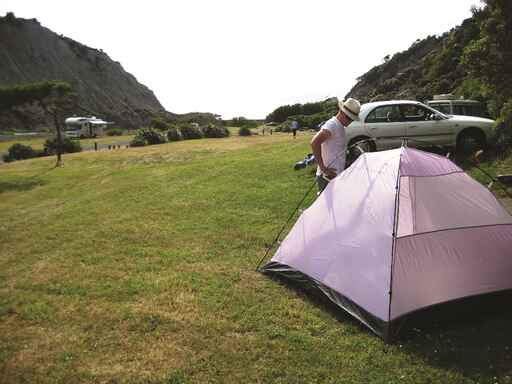 Putangirua Pinnacles Camping Ground