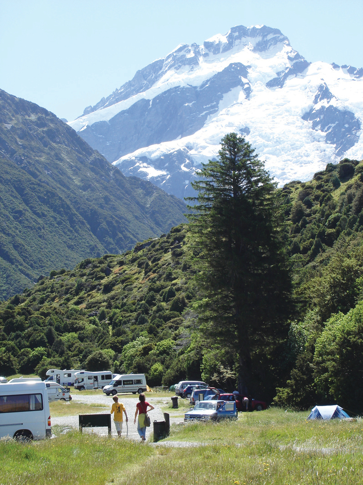 White Horse Hill Camping Ground