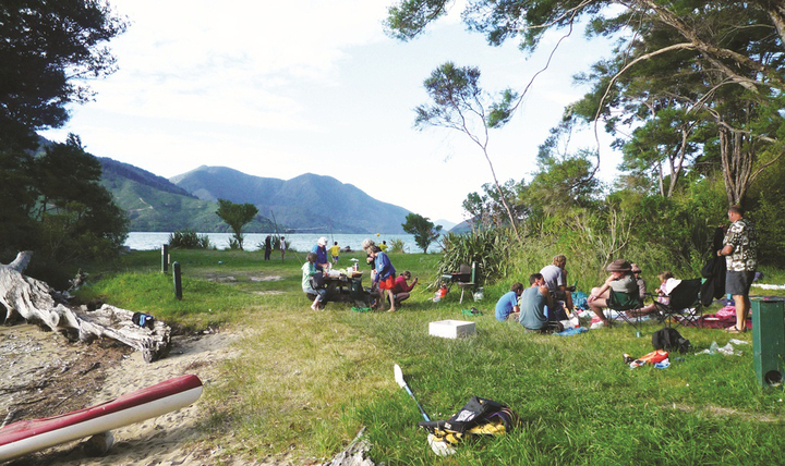 Moetapu Bay Camping Ground
