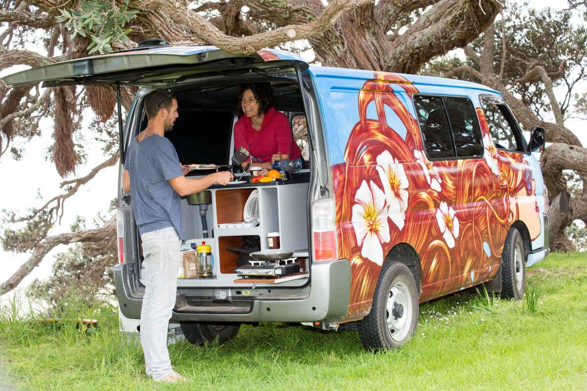Escape Campervan Rentals Auckland Region Nz 269 Travel