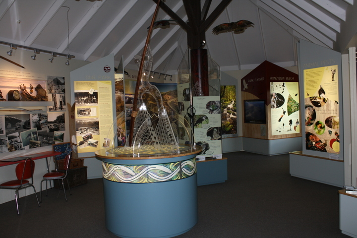 Visitor Centre display