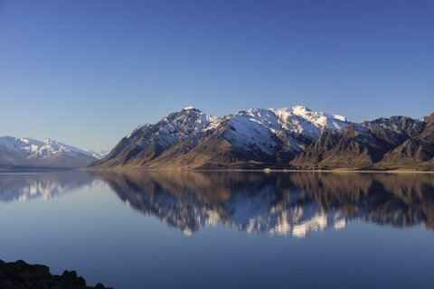 Campsite Views at Lake Hawea Holiday Park