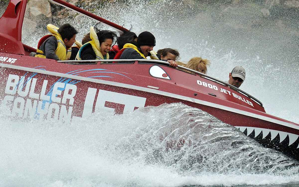 NZ's best jet boat ride