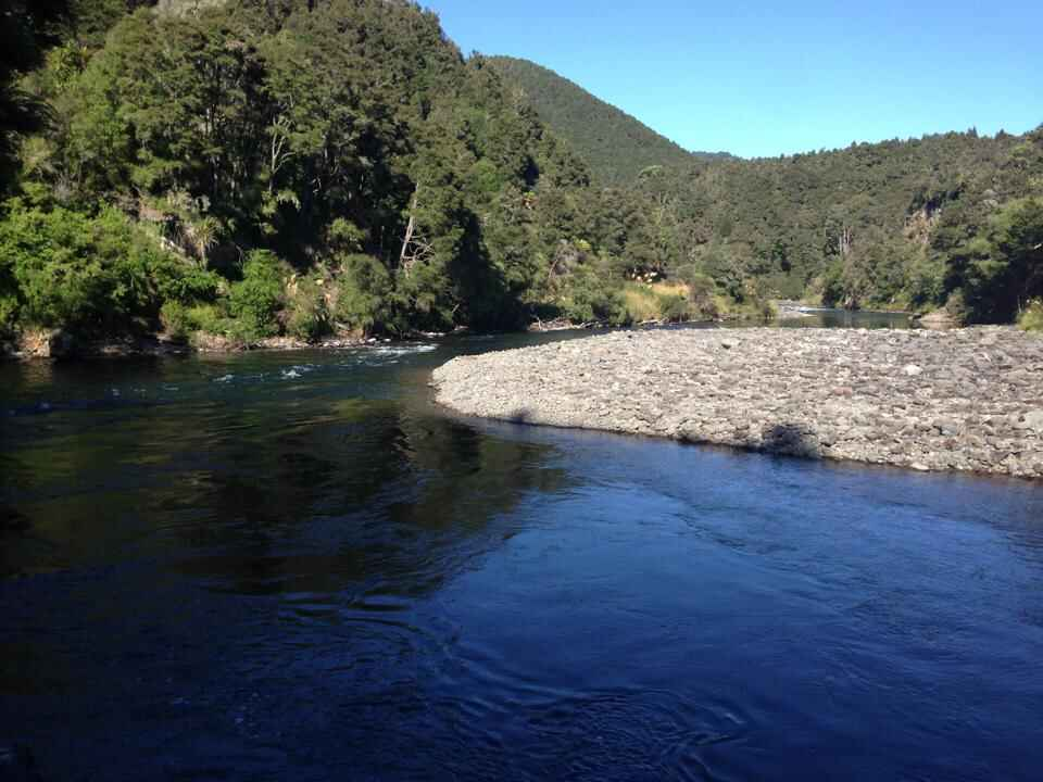 River at mangatutu hot springs