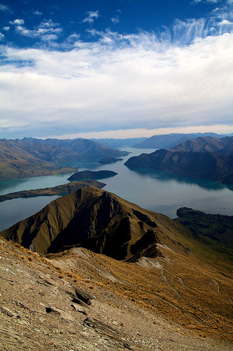 Stunning Lake Wanaka views abound on the Walk