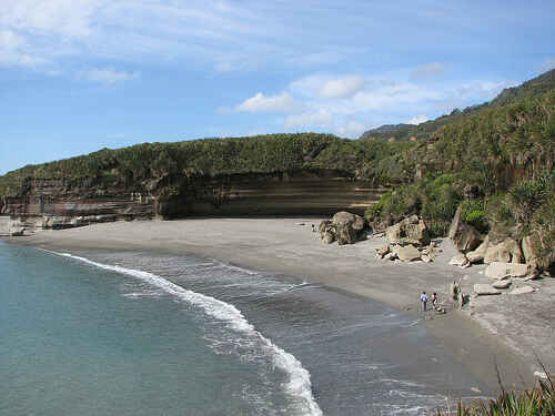 Stunning Beach on the Truman walking Track