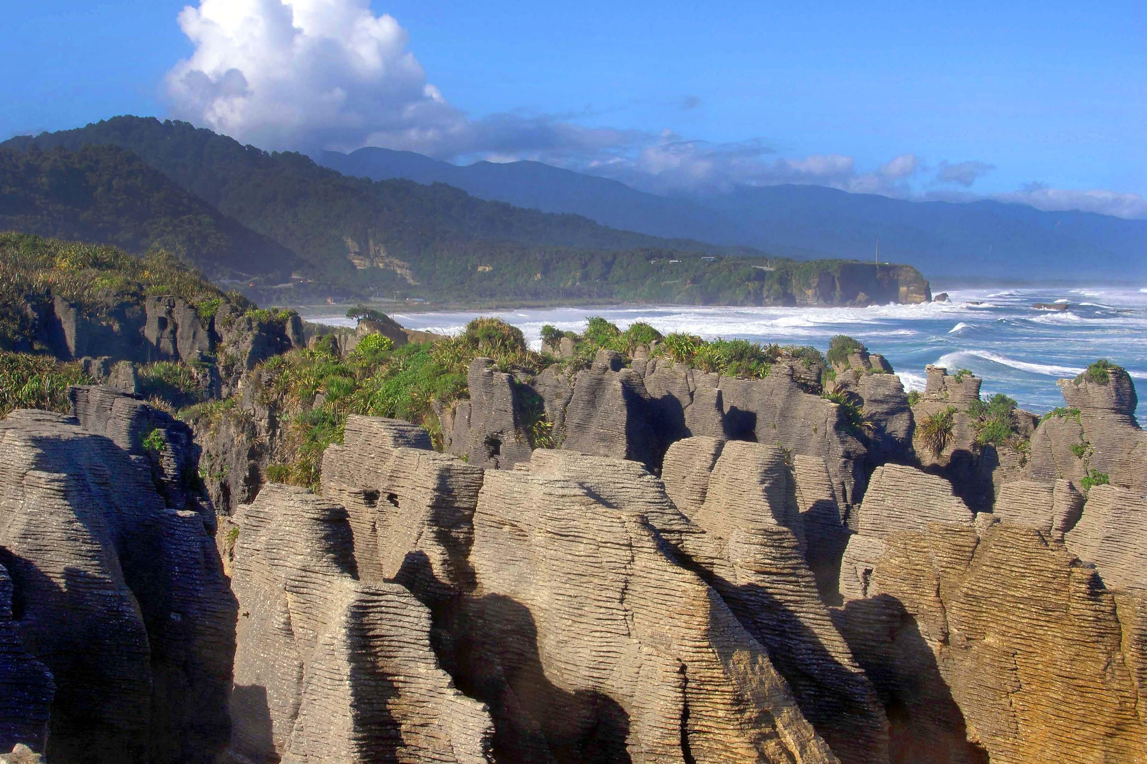 Pancake rocks blowholes walk west coast nz 435 travel reviews pancakes anyone ccuart Image collections