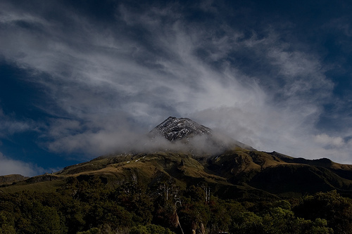 Mt Taranaki from the lookout