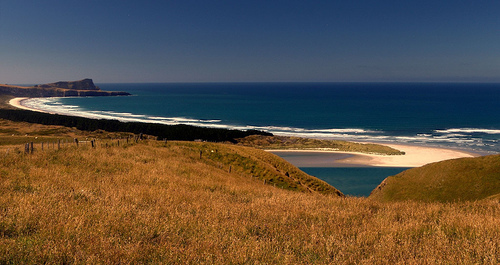 One of  Dunedin's most remote beaches