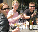 Having a great time offer lunch at Carrick Winery