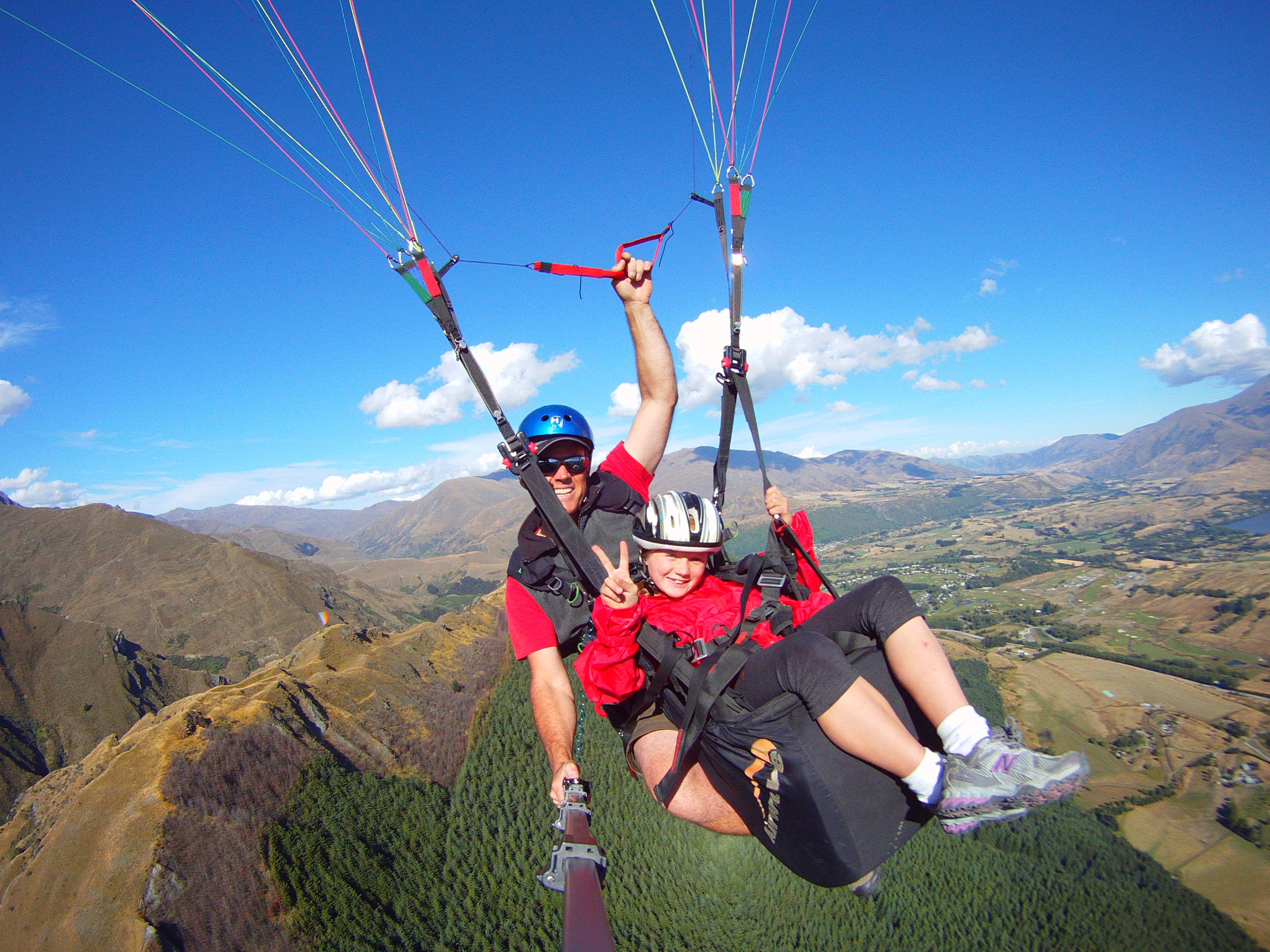 Coronet Peak Tandem Paragliding and Hang gliding, Queenstown Region