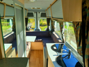 Inside the motorhome