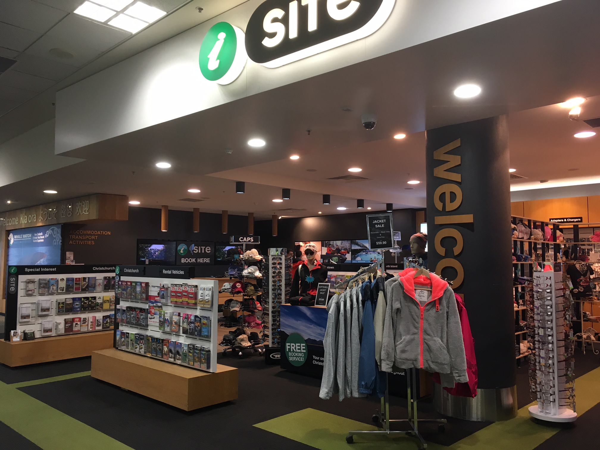 Christchurch airport i site visitor information centre canterbury our store front solutioingenieria Image collections