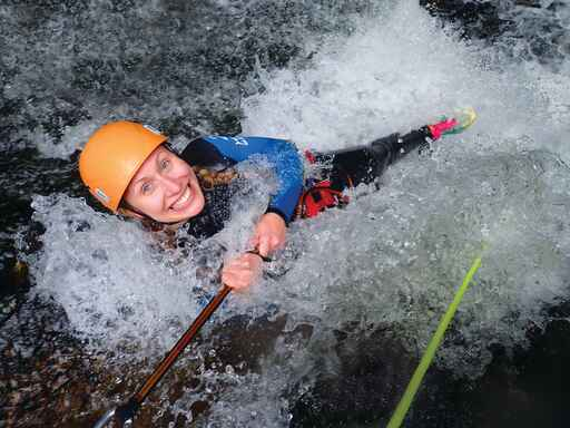 Adventure and Action Canyoning New Zealand