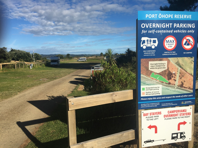 Port Ohope Camping -