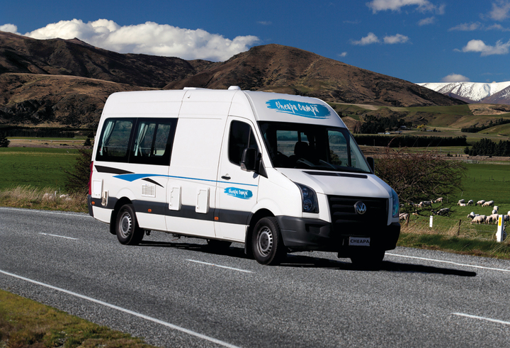 Cheapa Economy Campervans | Fully Self contained New Zealand