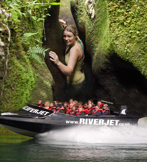 Jetboating Geothermal Nature THE SQUEEZE