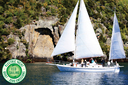 Sail Barbary to Taupo's iconic Maori Rock Carvings