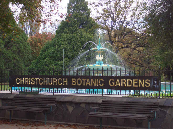 christchurch botanic gardens canterbury nz 73 travel