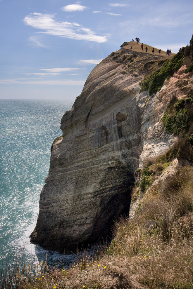 Shear coastal cliffs - Cape Farewell