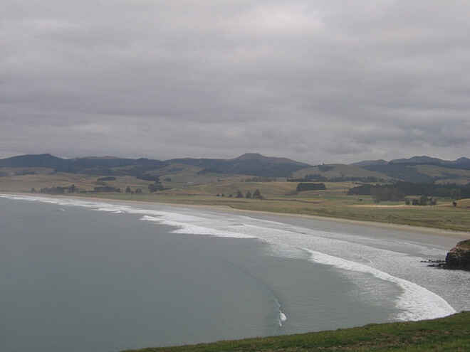 View from Moeraki Lighthouse
