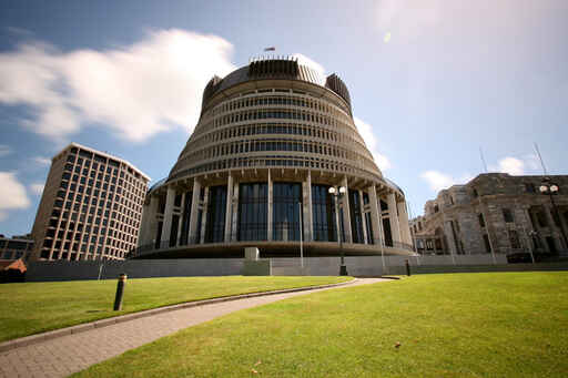 A true New Zealand icon - the Beehive