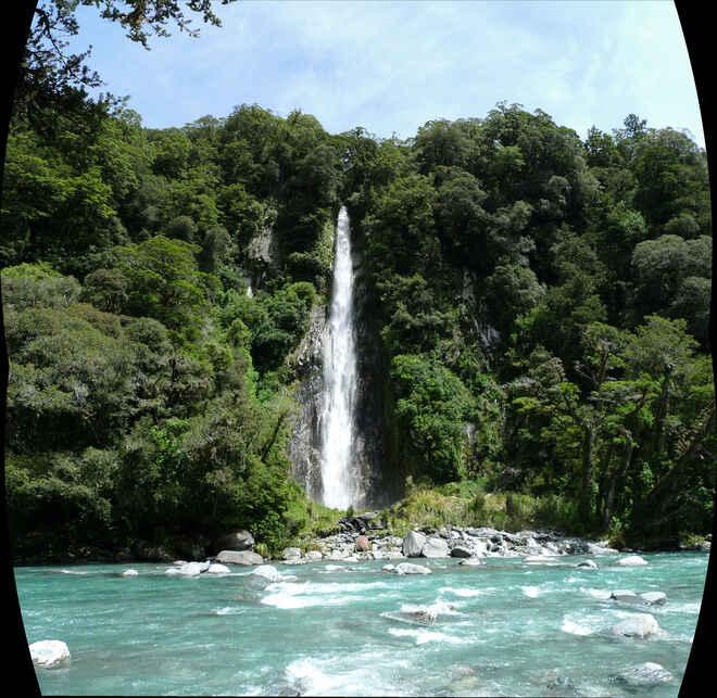 Thunder Creek Falls Walk - Haast Pass, West Coast, NZ - 14 ...