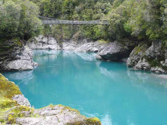 Image result for hokitika gorge