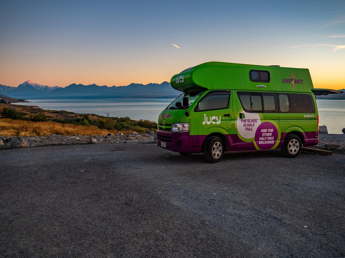 jucy rentals - campervans - jucy condo