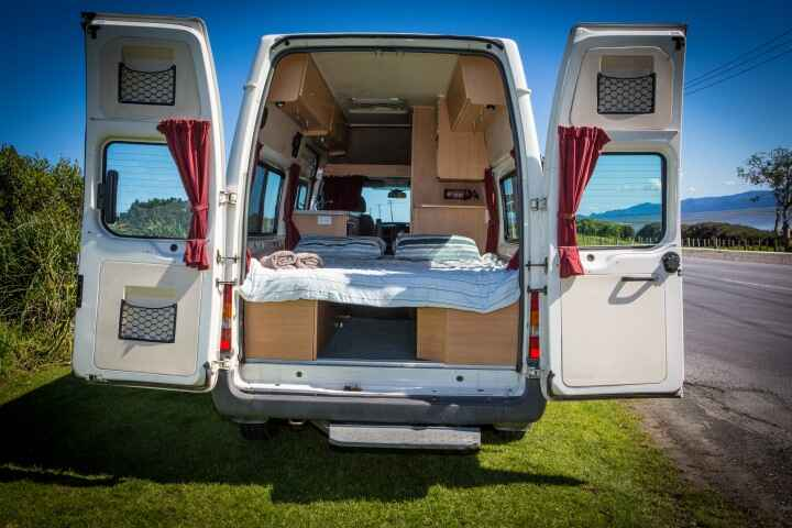 Awesome  Courtesy  Dethleffs Camper  Cheap Campervan Rental New Zealand