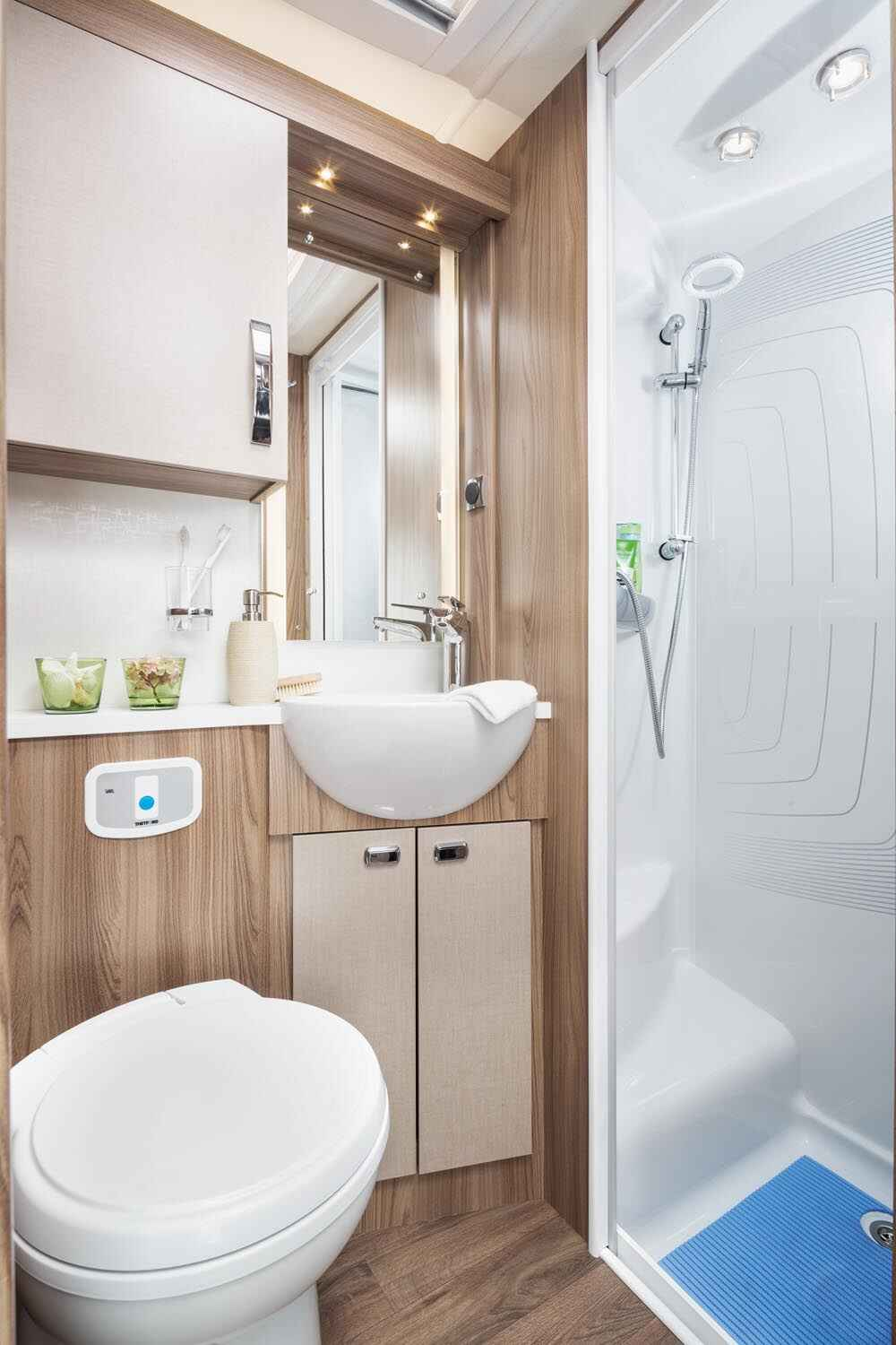 Iconic Motorhomes all have on-board shower and toilet facilities and are fully self-contained