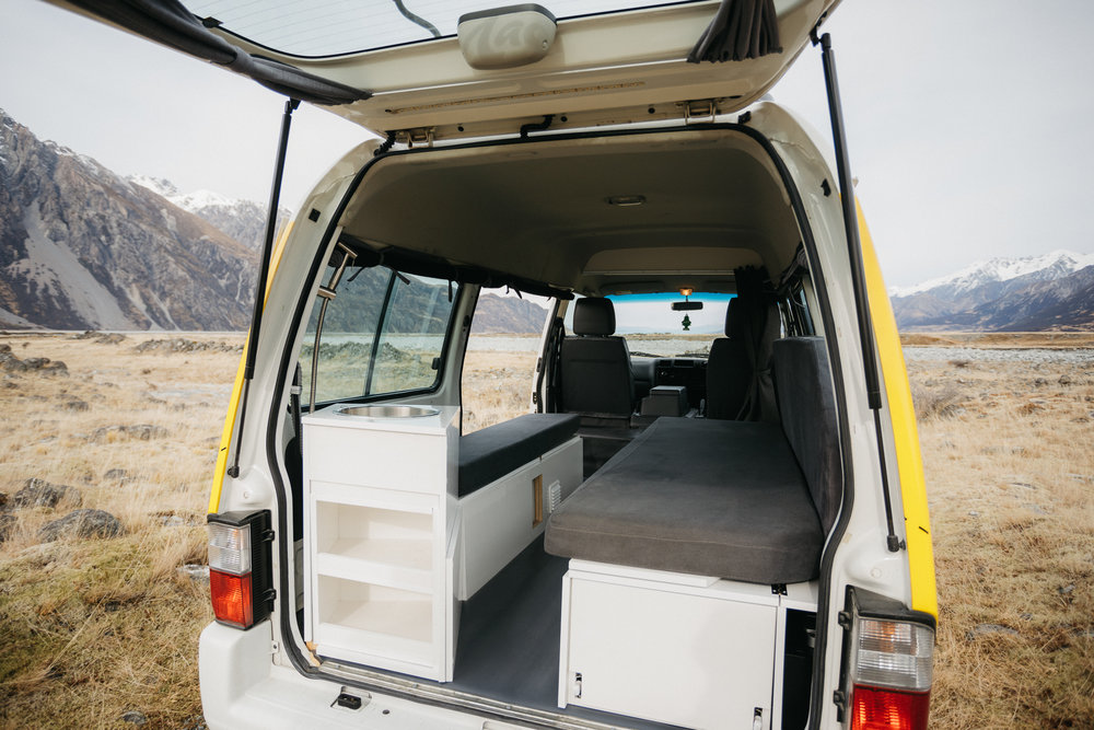 Mad Campers - MAD2 - 2 Person Self-Contained Campervan